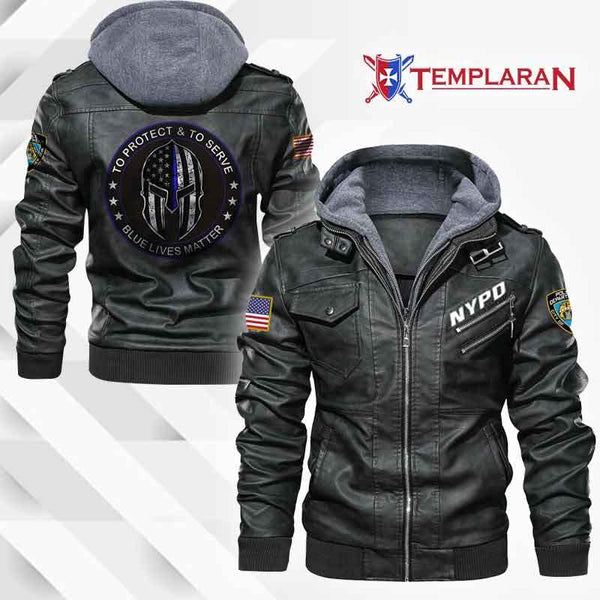 New York City Police Department Jacket Hoodie