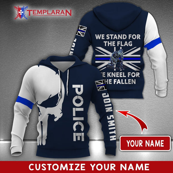 PERSONALIZED NAME UK POLICE 3D FULL PRINTING
