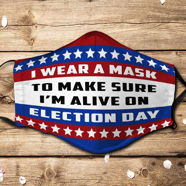 Election Day Fabric Face Mask