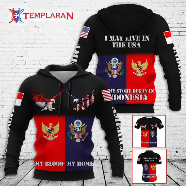 Expat Indonesia Limited edition 3D Full Printing