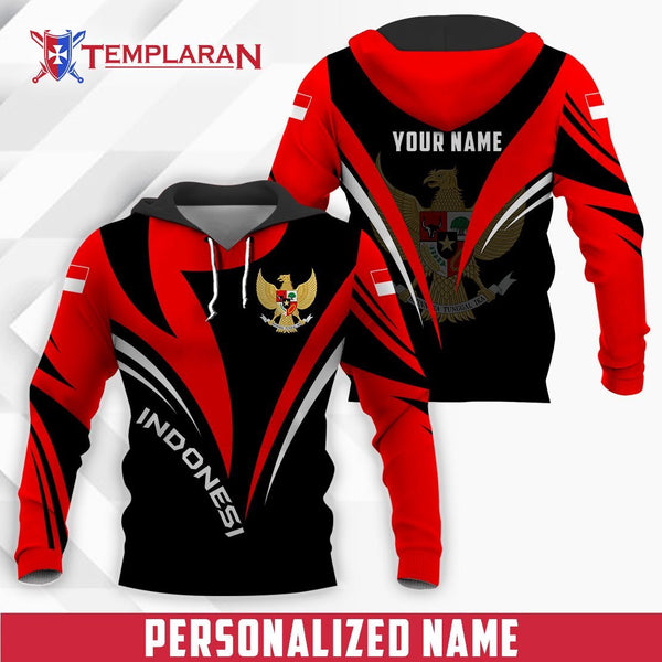 Customize Name Expat Indonesia Limited edition 3D Full Printing