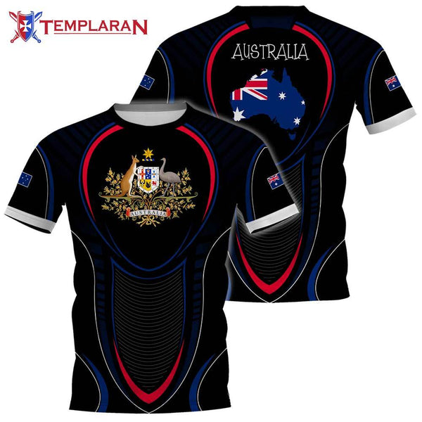Australia Expat Limited edition 3D Full Printing
