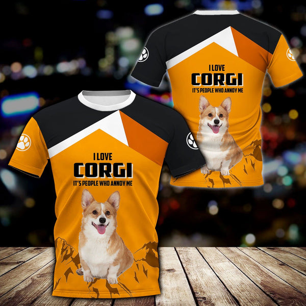 Love Corgi, a gift edition 3D Full Printing