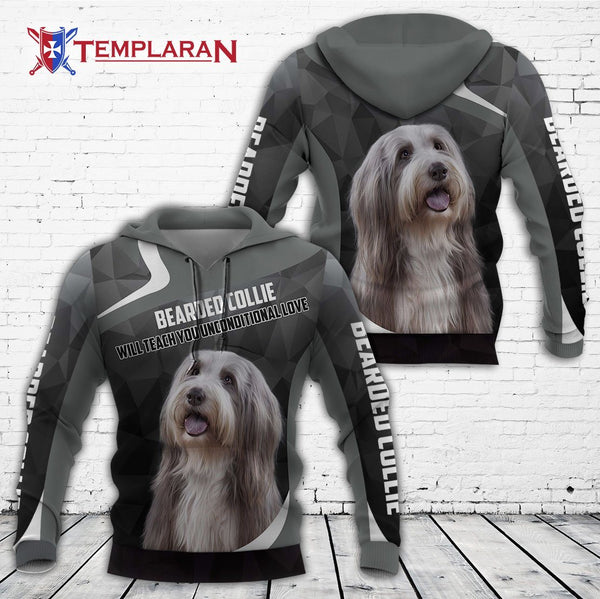 Bearded Collie 3D Full Printing