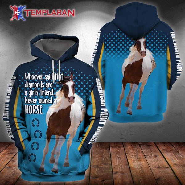 American paint horse, edition 3D Full Printing