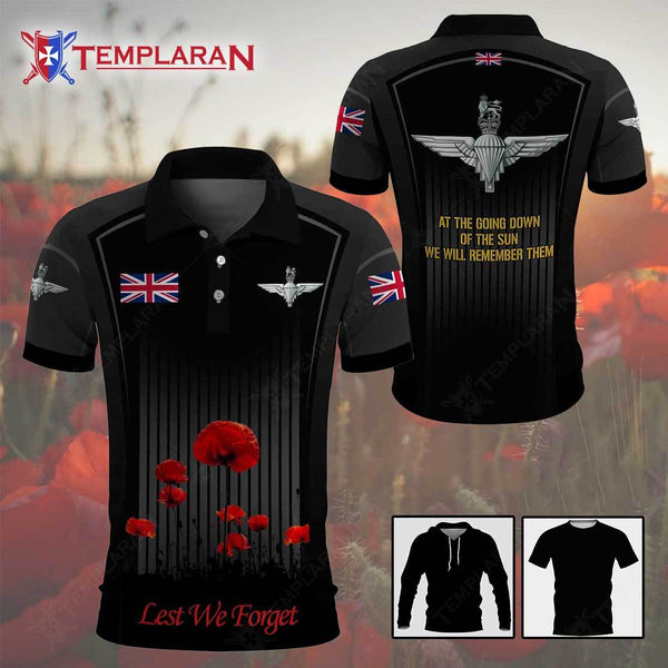 PARACHUTE REGIMENT ANZAC DAY LEST WE FORGET 3D Full Printing