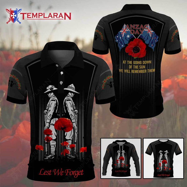 ANZAC DAY LEST WE FORGET 3D Full Printing