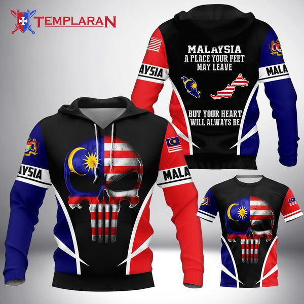 Malaysia hoodie 3D Full Printing