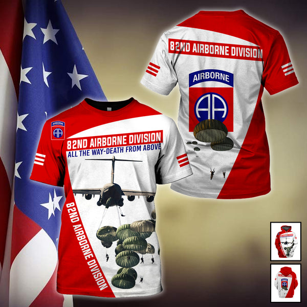 82nd airborne division 3D Full Printing
