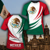 Mexico 3D Full Printing Short Pant and Unisex Tee
