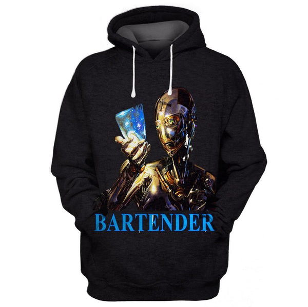 Bartender Limited edition 3D Full Printing