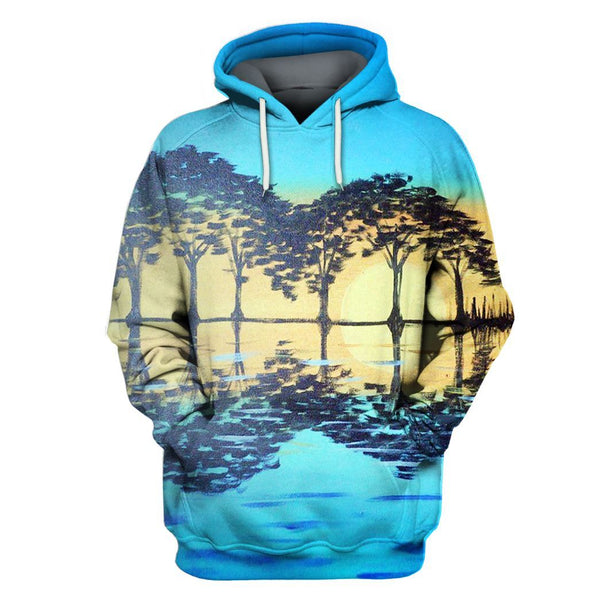 Guitar Sun Limited Edition 3D Full Printing Hoodie