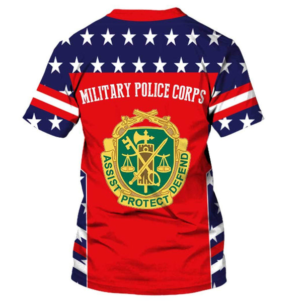 military police 3D Full Printing