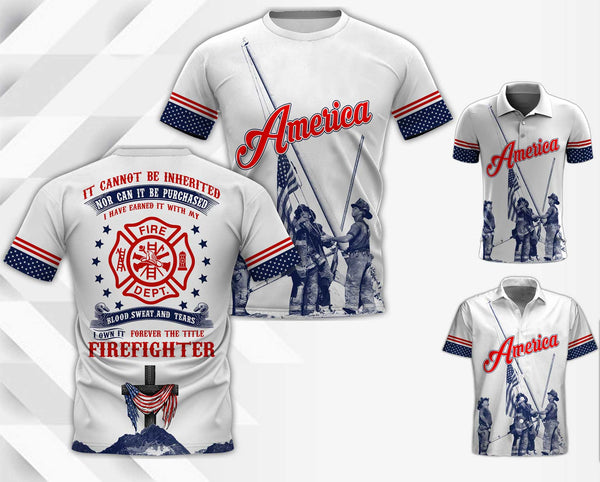 Firefighter 3D Full Printing TDH