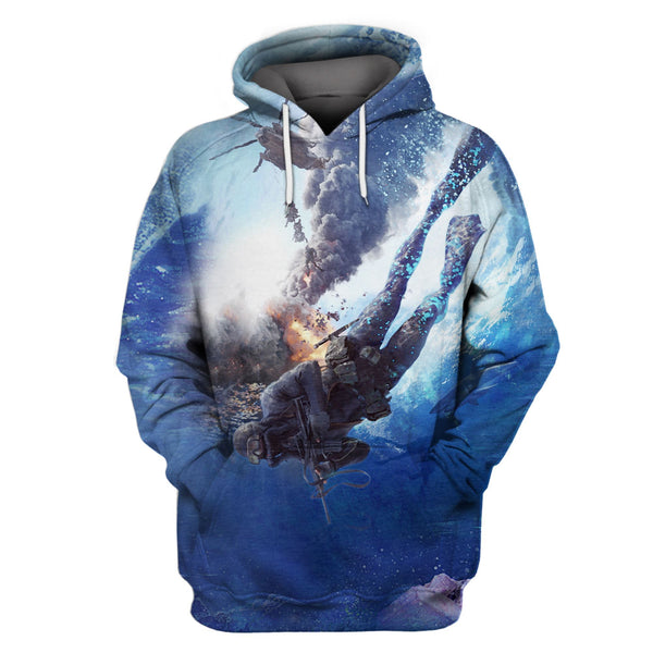 Limited Edition 3D Full Printing Hoodie