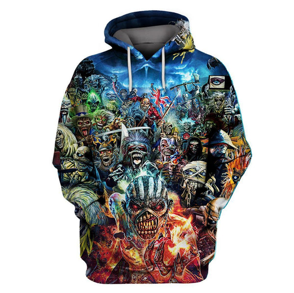 Music 3D Full Printing Hoodie Limited Edition