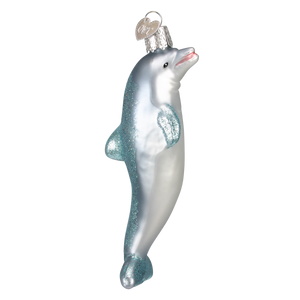 Playful Dolphin Christmas Ornament