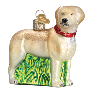Standing Lab Christmas Ornament
