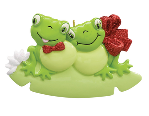 Frog Couple Ornament