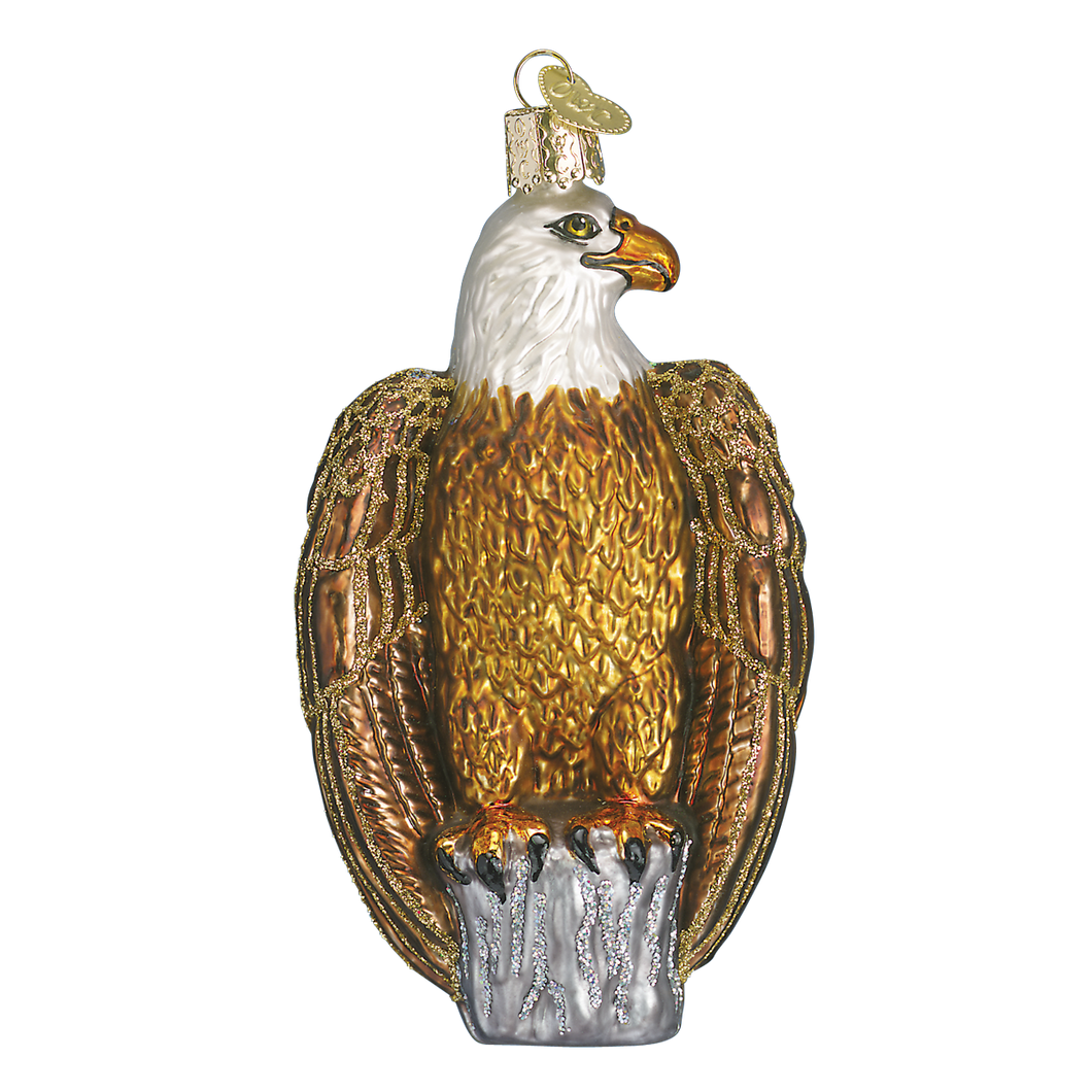 Bald Eagle Christmas Ornament