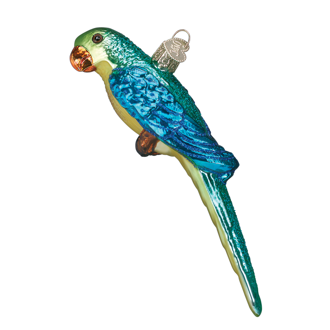 Parakeet Christmas Ornament