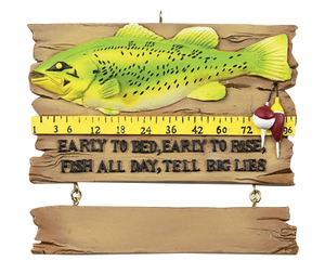 Fish Tales Christmas Ornament