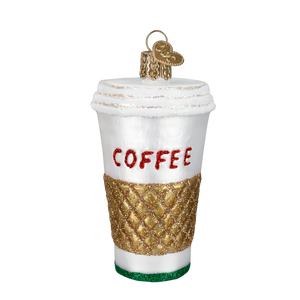 Coffee to Go Christmas Ornament