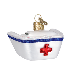 Nurse's Cap Christmas Ornament