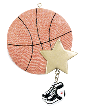 Basketball Ornament