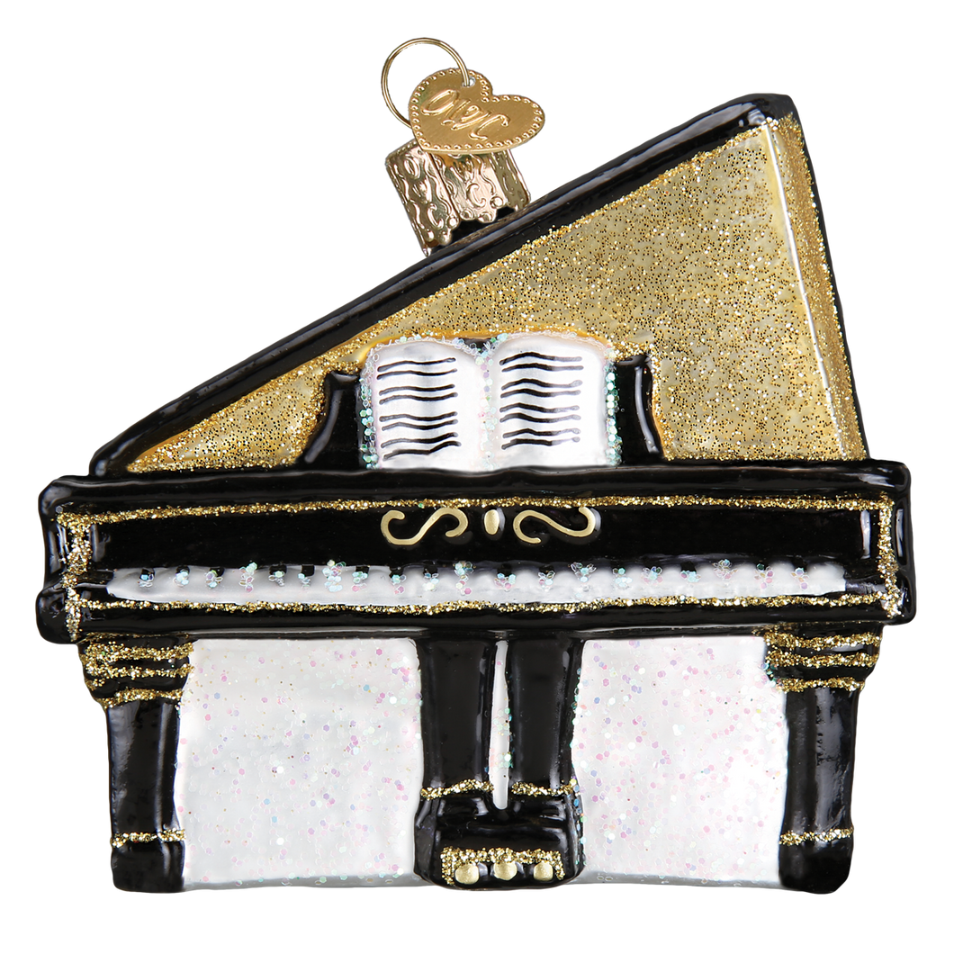 Baby Grand Piano Christmas Ornament