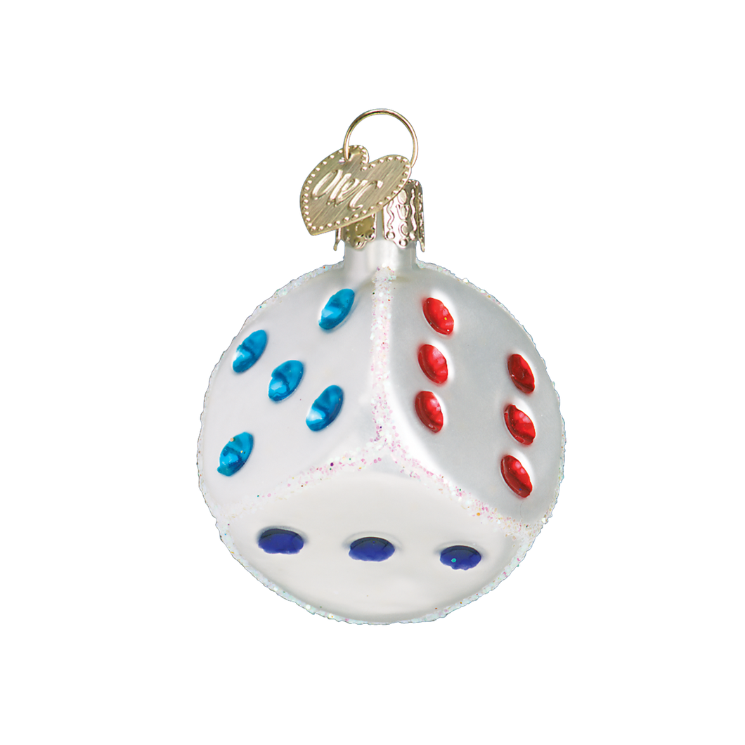 Dice Christmas Ornament