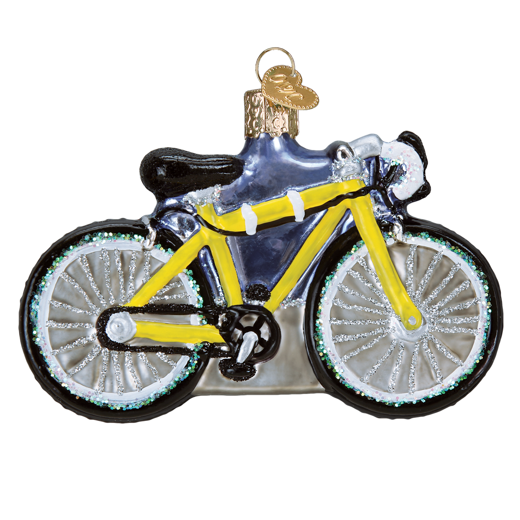Road Bike Christmas Ornament
