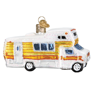 Classic Motorhome Christmas Ornament