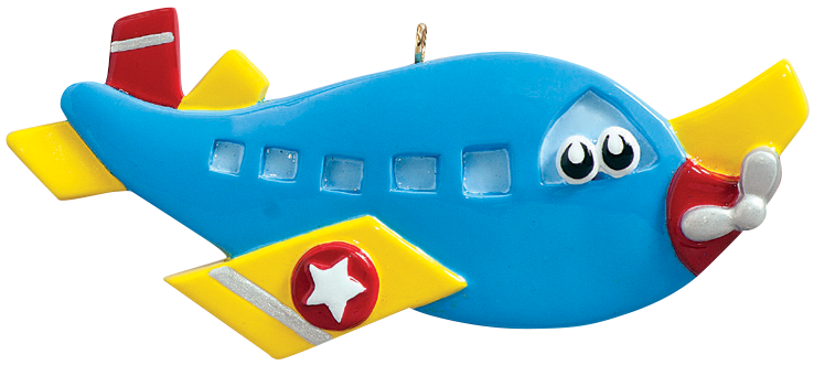 Airplane Toy Ornament