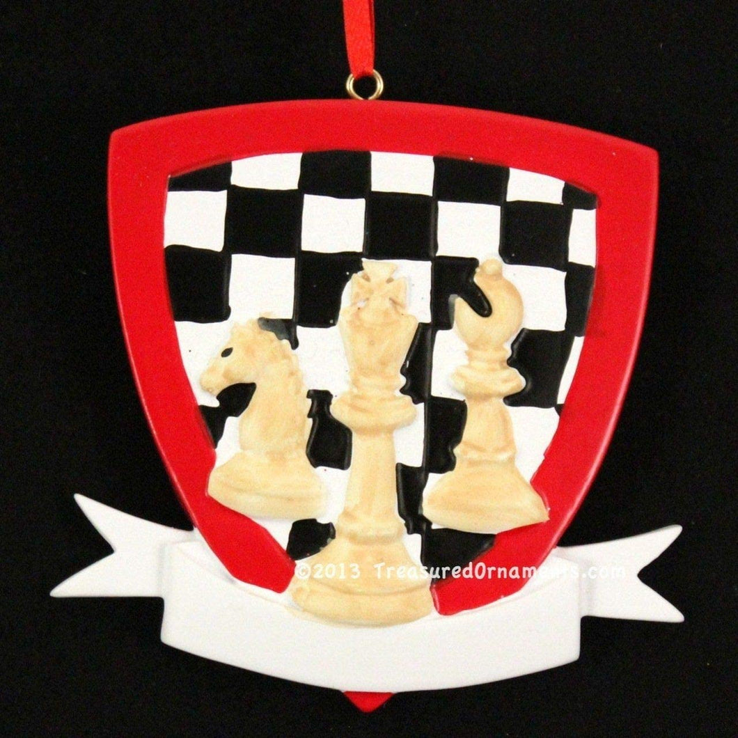 Chess Christmas Ornament
