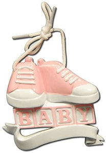 Baby's First-Baby Shoes First Steps-Pink