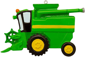 Green Combine Christmas Ornament