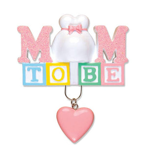 Mom To Be Christmas Ornament