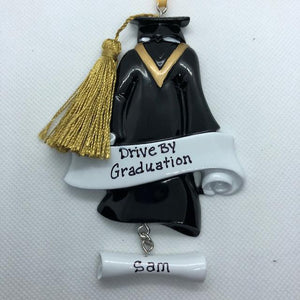 Drive By Graduation Ornament