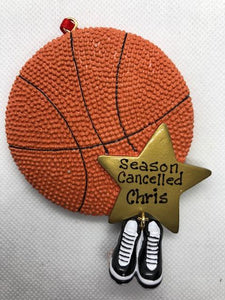 Basketball Season Cancelled Ornament