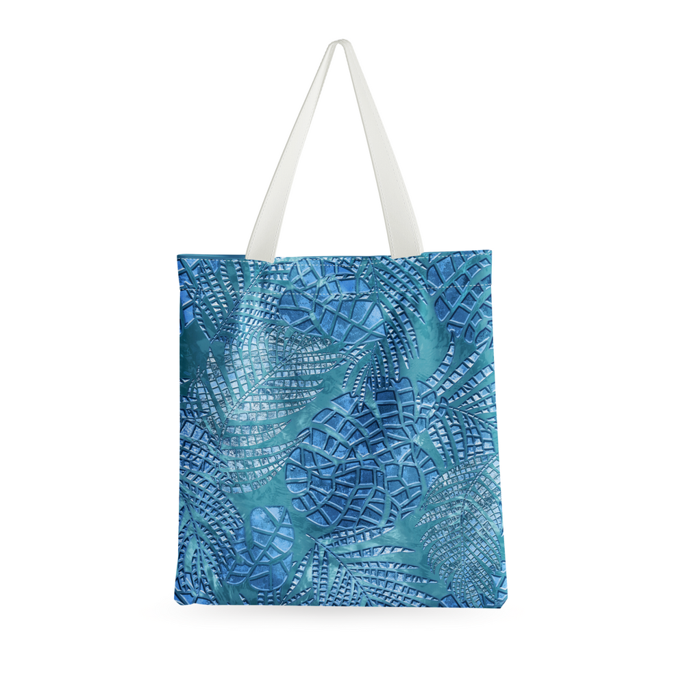 Roomy beach tote in Palm Springs.