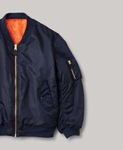 MA-1 | BOMBER JACKET | NAVY