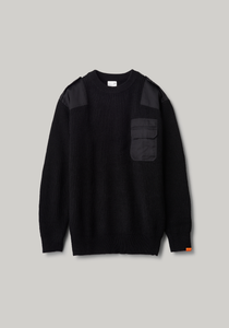 COMMAND SWEATER | BLACK