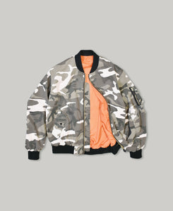 MA-1 | NON-PADDING BOMBER JACKET |  VINTAGE WASH UC