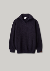 SAILER HALFZIP SWEATE | NAVY