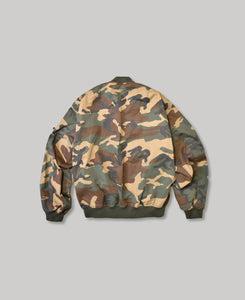 MA-1 | NON-PADDING BOMBER JACKET |  ONE WASH WC
