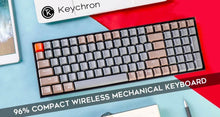 Load image into Gallery viewer, Keychron K4 Aluminum Wireless RGB Mechanical Keyboard