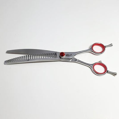 "Big Red 8"" Curved Texturizer Shear"
