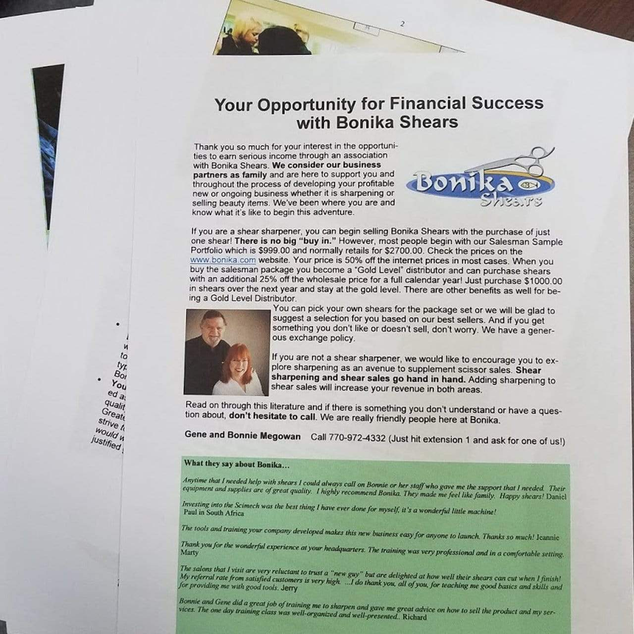 Free Guide on starting a shear sharpening business