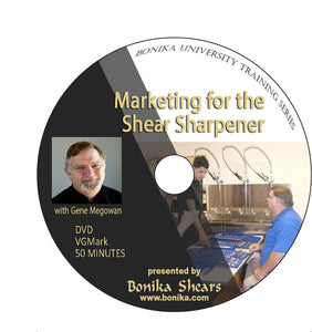 Marketing for the Shear Sharpener Video